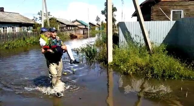 Большая вода не помешала началу учебного года в ЕАО