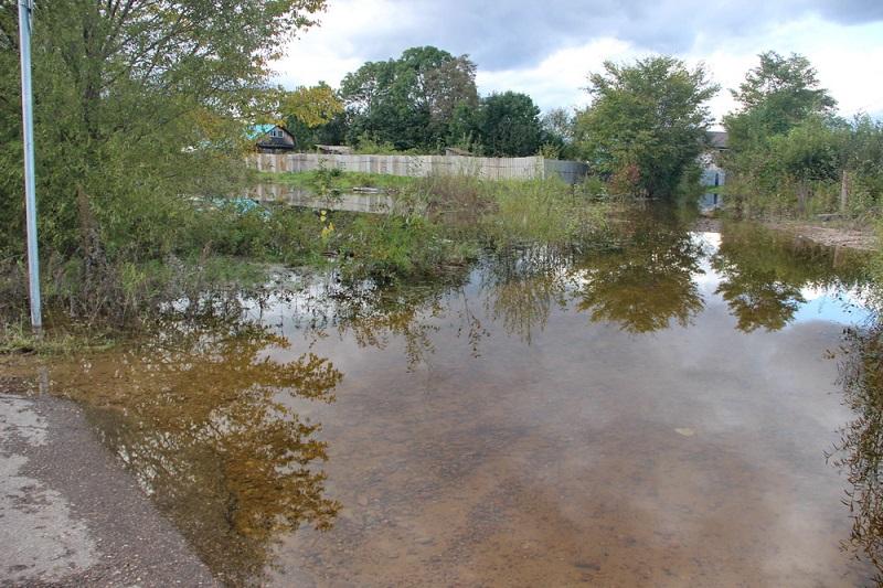 Один поселок в ЕАО еще не освободился от паводковых вод