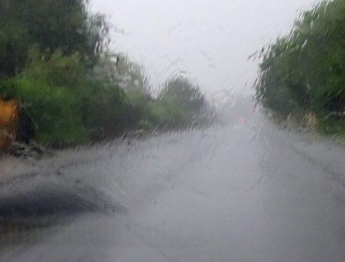 На ЕАО опять надвигаются сильные дожди