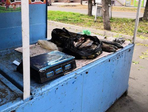 Уличным торговцам рыбой в Биробиджане выписали штрафы