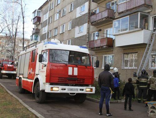 Биробиджанцы оставили пищу на плите и ушли: соседям пришлось вызывать пожарных