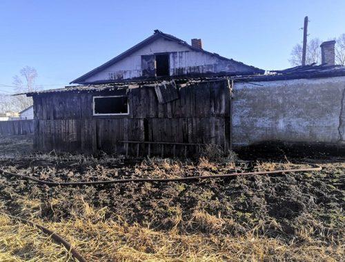 Погибшего мужчину обнаружили на месте пожара в частном доме в ЕАО