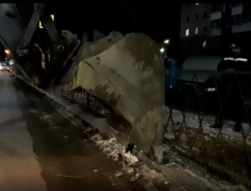 Специалисты устранили порыв на магистральном трубопроводе в Биробиджане