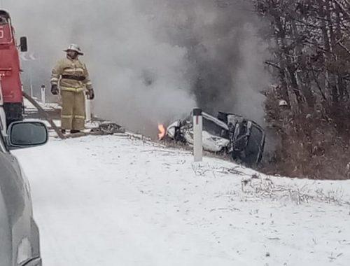 Четыре человека погибли в страшном ДТП в районе с. Белгородское ЕАО