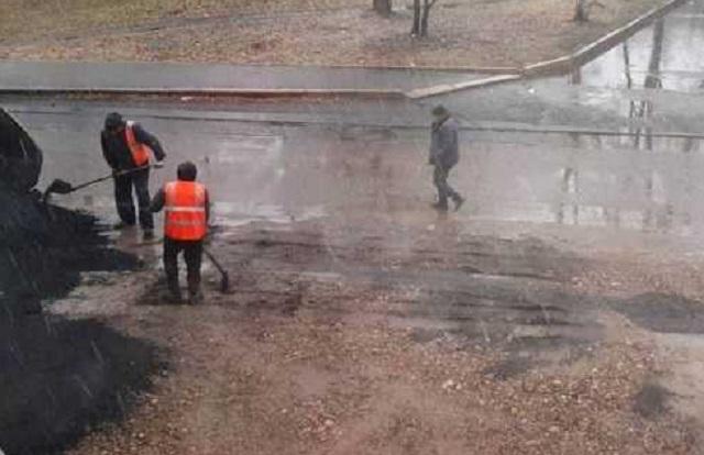 Весной дорожники будут заново ремонтировать дорогу по ул. Чапаева