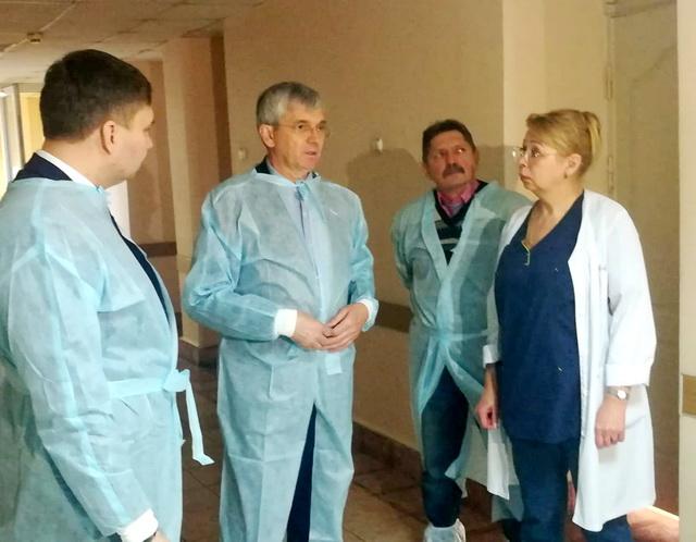 Депутат Госдумы РФ Александр Петров побывал в ЕАО с рабочим визитом