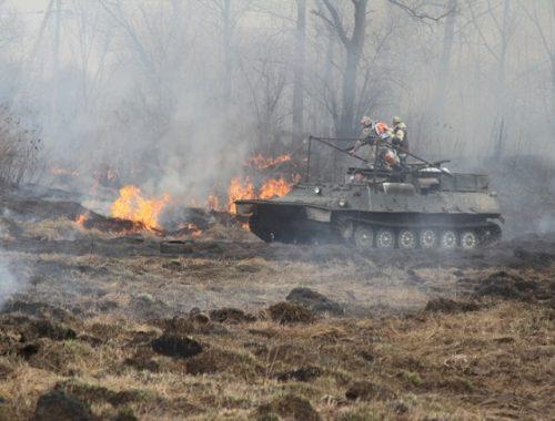 ЕАО готовится к пожароопасному периоду
