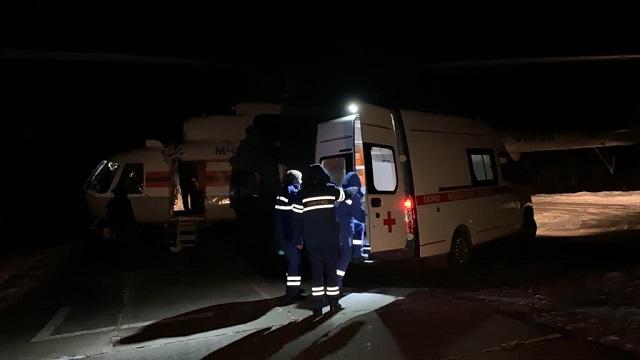 Новорожденного ребенка и его маму эвакуировали в Хабаровск