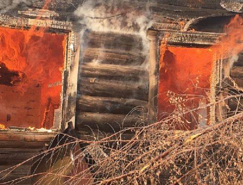 Пожилой малоподвижный мужчина погиб при пожаре в ЕАО