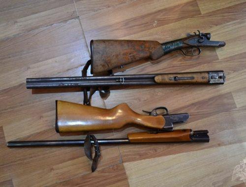 Свыше 500 единиц оружия изъяли у жителей ЕАО в 2019 году