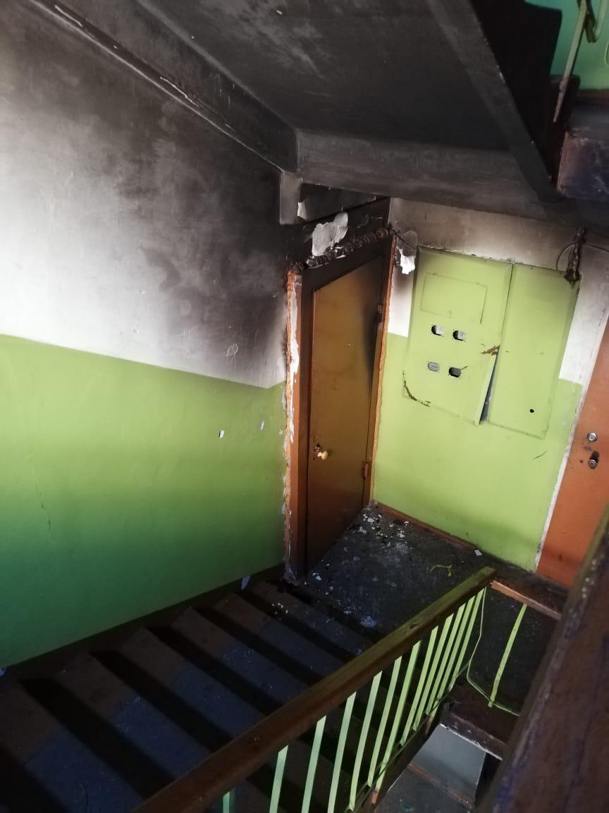 Квартира вспыхнула в биробиджанской многоэтажке
