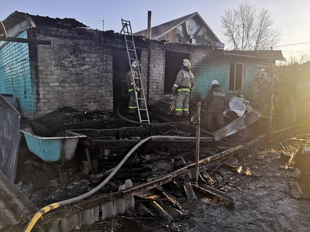 Газовый баллон взорвался в пристройке к дому в ЕАО