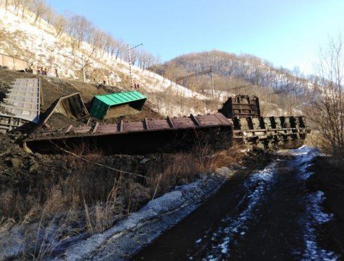 На участке Архара – Известковая сошли 18 вагонов с углем