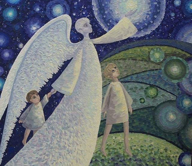 Нарисовать «Ангела Биробиджана» смогут посетители выставки международного арт-проекта