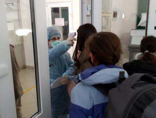 Россияне, прибывающие из Китая в ЕАО, сдают пробы на коронавирус