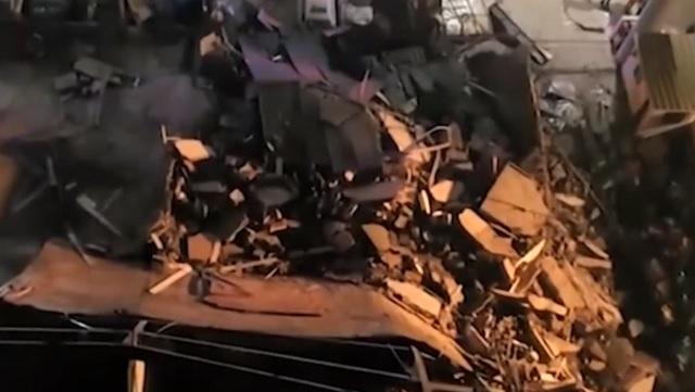 В Китае рухнул карантинный центр по коронавирусу: погибли 18 человек