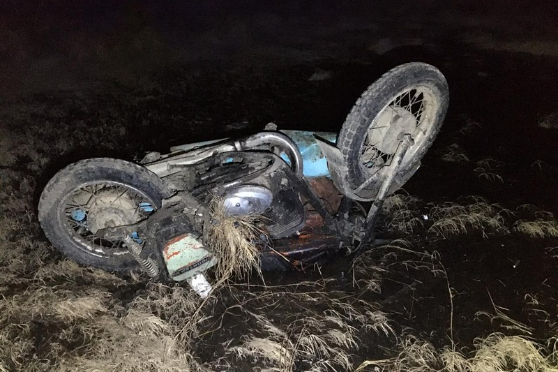 Мотоциклист погиб в ДТП на трассе в ЕАО