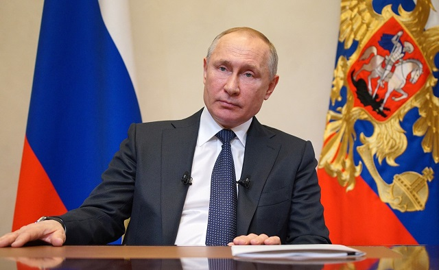 Путин объявил следующую неделю нерабочей