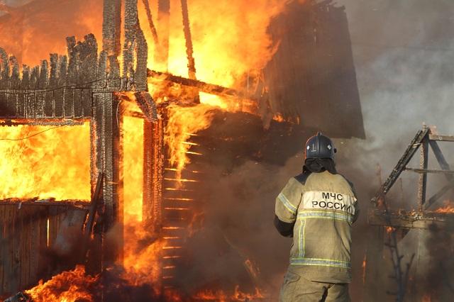 В ЕАО разыскиваются виновные в пожаре