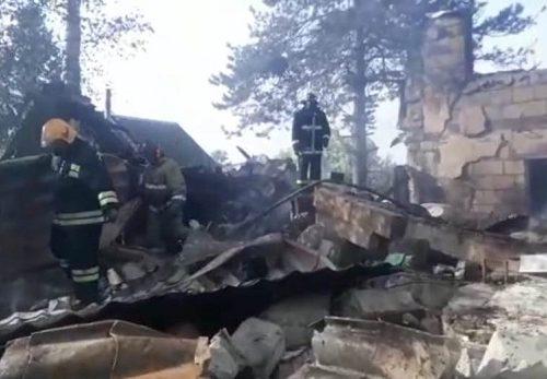 На месте обрушения дома в ЕАО обнаружено тело мужчины
