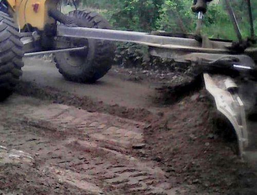 Многострадальную дорогу на Щукинку прогрейдировали