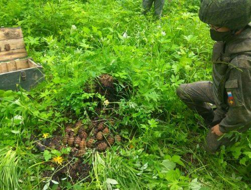 В ЕАО на территории сгоревшего артиллерийского склада нашли и взорвали боеприпасы