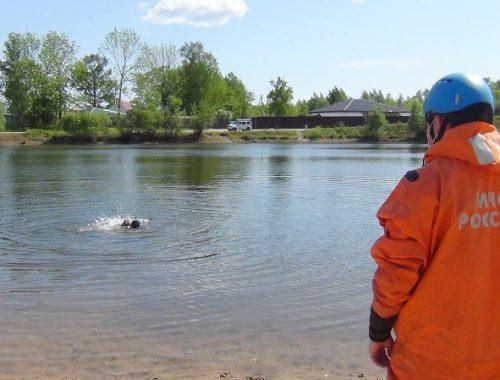 Спасатели ЕАО показали, как спасти тонущего человека