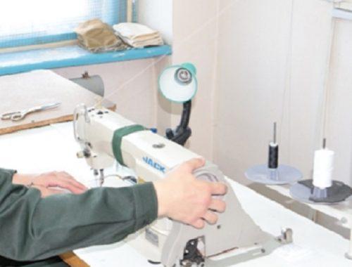 Осужденные сшили 1000 пеленок для нужд областной больницы