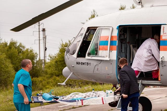 Малыша с ожогами 40% тела эвакуировали из Биробиджана в Хабаровск
