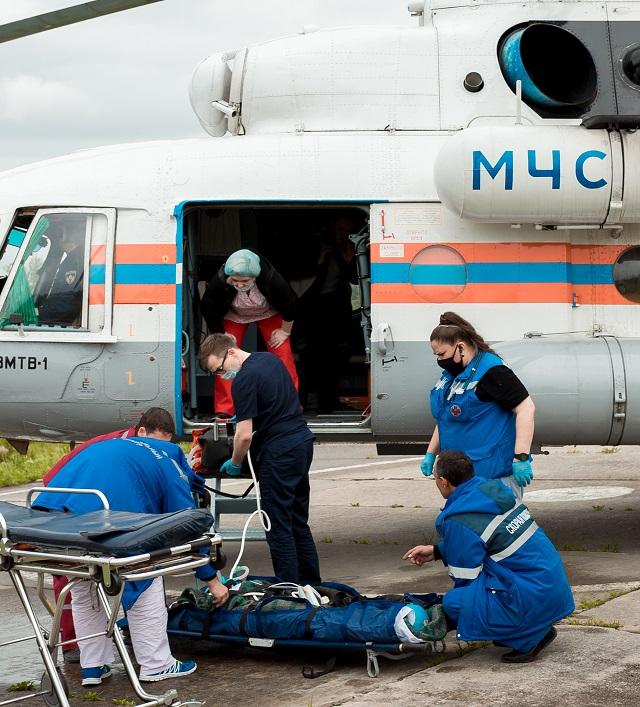 Молодую биробиджанку экстренно эвакуировали в Хабаровск