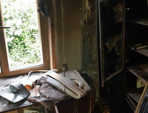 Оставленный на зарядке ноутбук стал причиной пожара в частном доме в ЕАО
