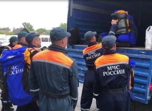 Спасатели выехали на помощь жителям п. Николаевка