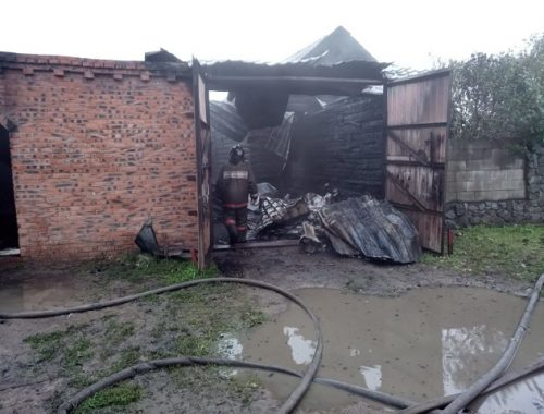 Незащищенные от осадков электропровода привели к крупному пожару в ЕАО
