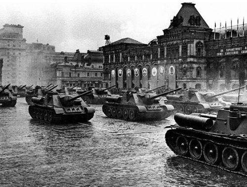 Минобороны опубликовало архивные документы о Параде Победы 1945 года