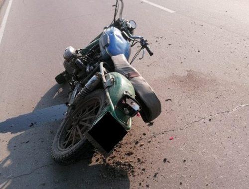 Пьяный мотоциклист без прав устроил ДТП в ЕАО