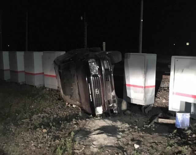 Служебный автомобиль мэра Биробиджана попал в ДТП