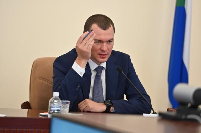 Врио главы Хабаровского края отменил госзакупку на услуги телохранителей за 33 млн рублей