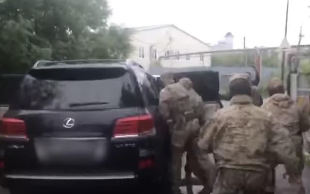 СК опубликовал видео задержания Сергея Фургала