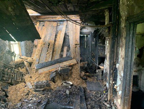 Проспал пожар в собственном гараже житель ЕАО
