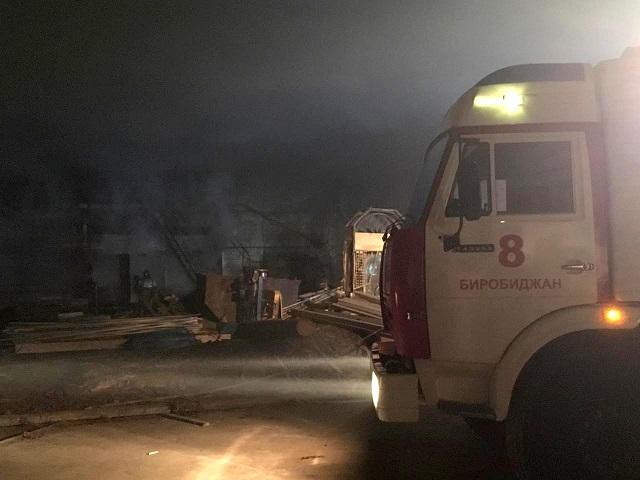 Сушили одежду и чуть не спалили котельную рабочие в Биробиджане