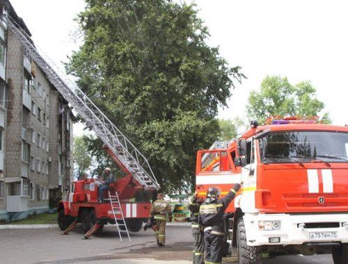 Пожар в многоквартирном доме в Биробиджане: вспыхнул холодильник