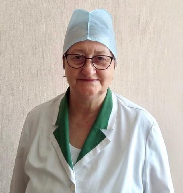 Свыше 30 лет трудится в инфекционной больнице ЕАО Ольга Емельянова