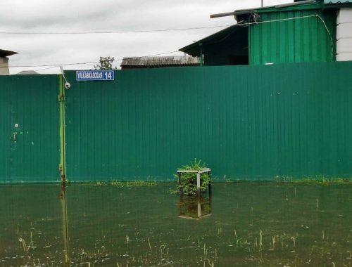 Уровень воды в р. Бире продолжает расти