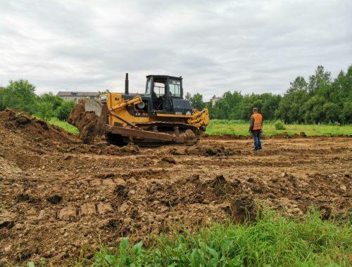 Строительство физкультурно-оздоровительного комплекса началось в Биробиджане