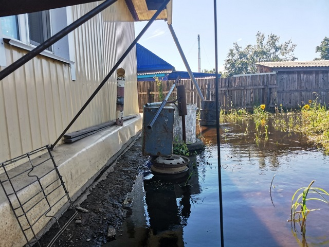До сих пор остаются подтопленными жилые дома в Биробиджане