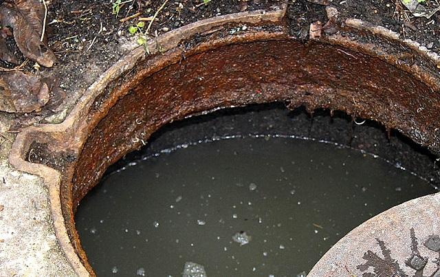 Нечистоты начали выходить на поверхность в Биробиджане