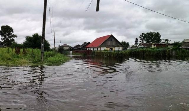 Гидрологическая обстановка в Биробиджане на 7 августа