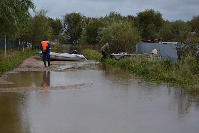 Гребень паводка смещается в Смидовичский район ЕАО — уже подтоплено 16 домов