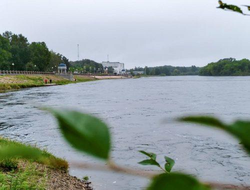 Ситуация на реках Биробиджана ухудшилась