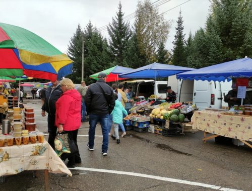 Подходи, покупай: сельскохозяйственная ярмарка заработала в Биробиджане (ФОТО)